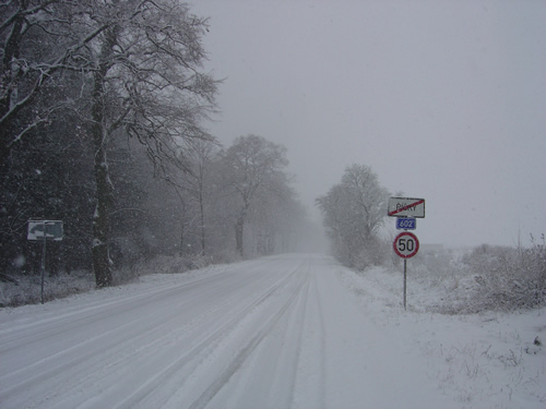 【写真】雪に比べれば雨はスリップもしない。(写真はイメージ、チェコ)