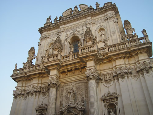 【写真】レッチェは南のフィレンツェと呼ばれるほどバロック風の建築物が多い。