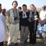 【写真】2004年インドのデカン高原にて