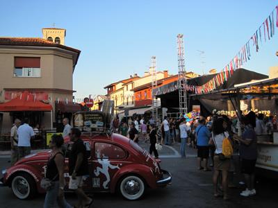 【写真】バスカーフェスティバル会場の様子