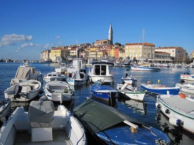 【写真】イストラ半島人気の観光地ロビニ。