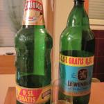【写真】2リットルのビールが200円前後で買える。