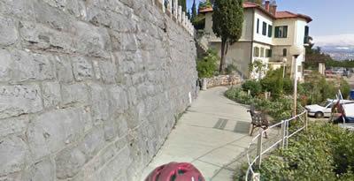 【写真】もやは自転車専用道も網羅しているグーグルマップ。恐ろしや。