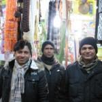 【写真】左がカルカッタ出身のシャルカールさん。