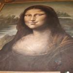 【写真】路面に絵を描く芸マドンナーロ