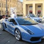 【写真】いわゆる警察。イタリアだけに稀にランボルギーニーパトカーが。