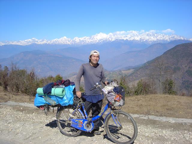 【写真】2005年ヒマラヤ山中にて撮影。
