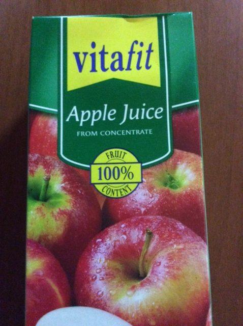 100%リンゴジュース 1.5リットル 1.29ユーロ 150円