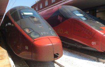 【写真】イタリアが誇る特急列車イタロitalo