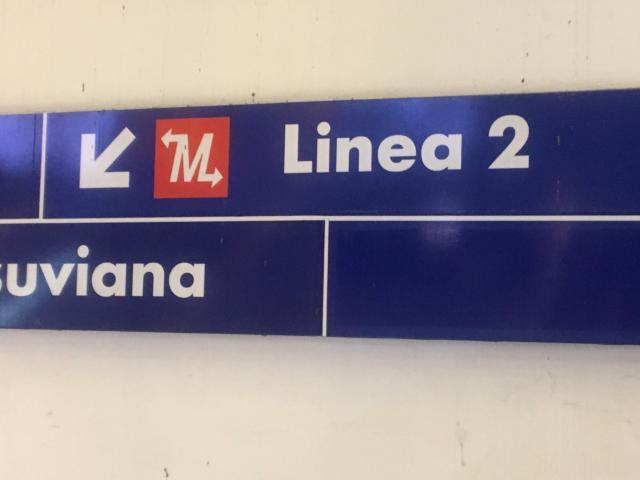 【写真】ナポリLinea2はトレニイタリアが運営している