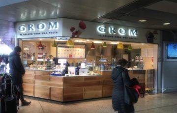 GROM ローマ・テルミニ駅