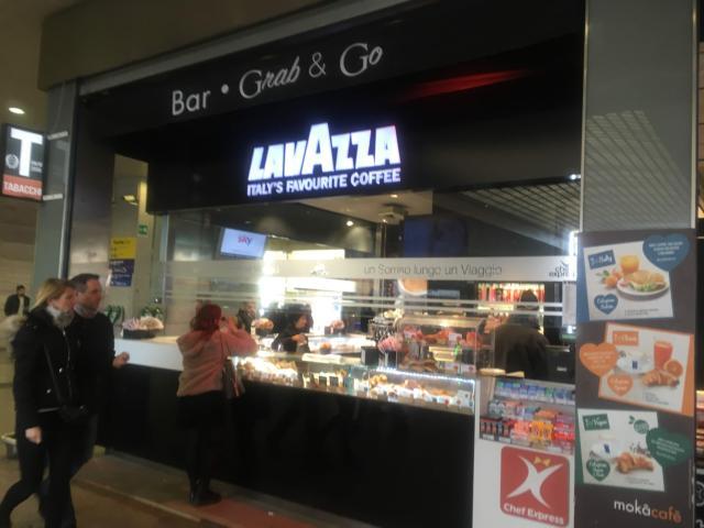 LAVAZZA ローマ・テルミニ駅