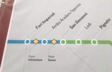 【写真】地下鉄C線予定図