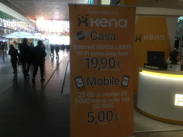 【写真】格安SIM会社Kena