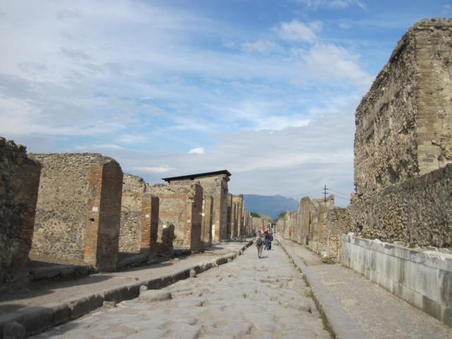 世界遺産にも登録されているポンペイ遺跡