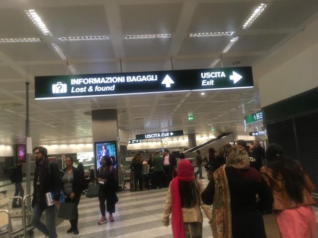 【写真】イタリア北の玄関口となっているマルペンサ空港