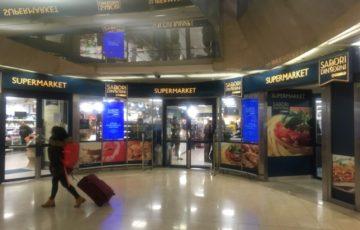 【写真】ミラノ中央駅のスーパーの入り口