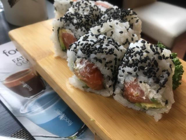 【写真】Sushi kingの寿司の一例
