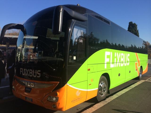 【写真】長距離バスをうまく利用すると旅行が簡単に。