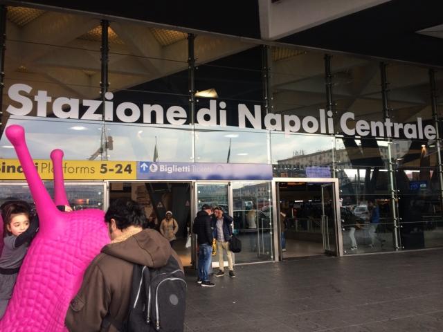 【写真】ナポリ中央駅はナポリの出発地点