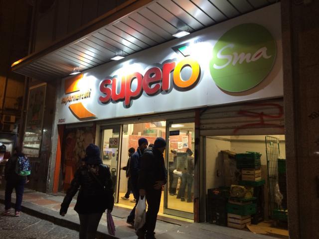 【写真】イタリアではスーパーマーケットを利用するお得