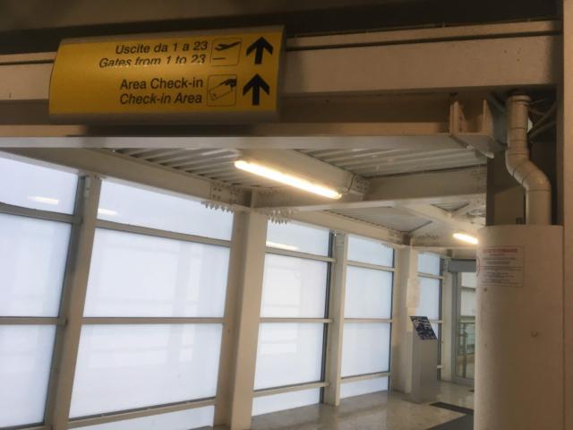 【写真】ここまで来ると空港内まで至近です