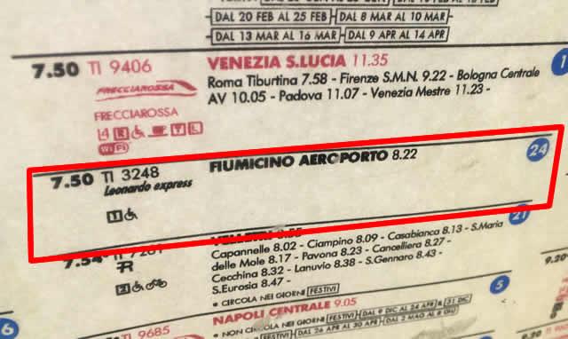 レオナルドエクスプレスは24番線から発着が多い