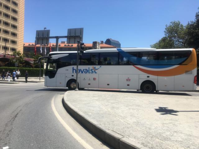 【写真】havaistバスはイスタンブール新空港と市内を結ぶ