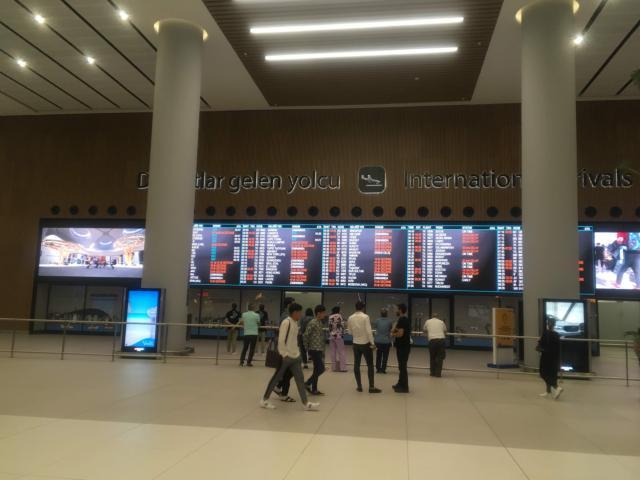 イスタンブール新空港国際線出口
