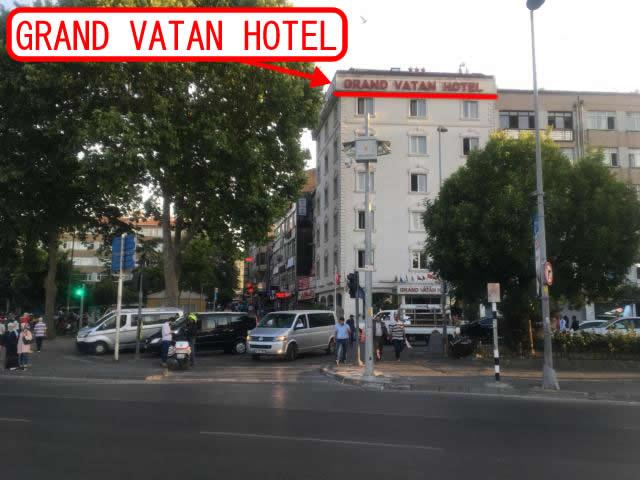 GRAND VATAN HOTELの建物を探す