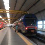 鈍行鉄道でもフィウミチーノ空港から市内へ行ける