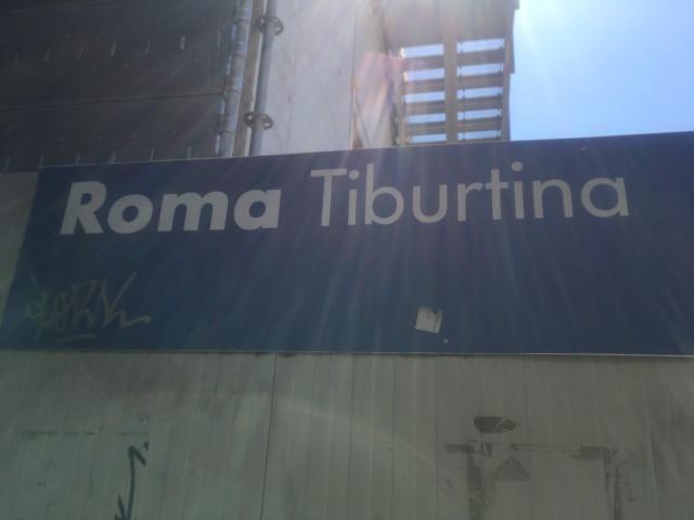 【写真】ローマ・ティブルルティーナ駅