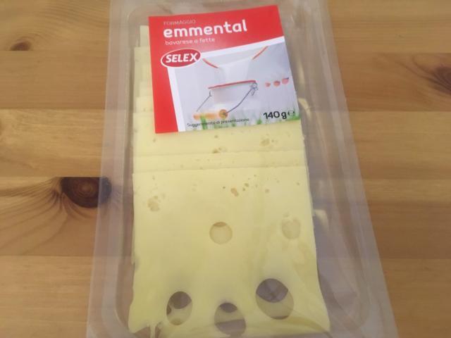 【写真】スライスされたチーズ140グラム1.59ユーロ194円