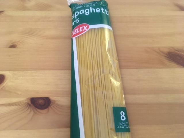 【写真】スパゲティ500グラムが0.46ユーロ56円