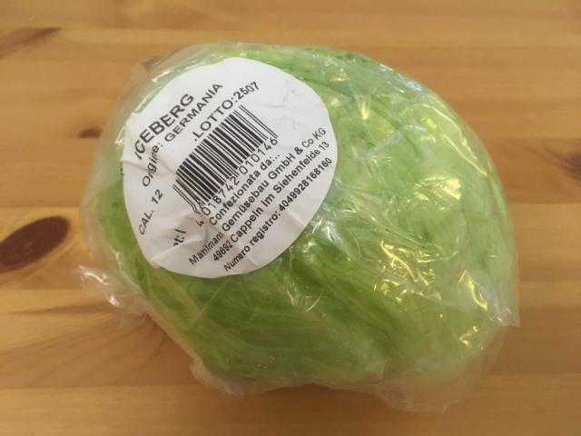 【写真】レタスひと玉およそ300グラム 0.8ユーロ98円