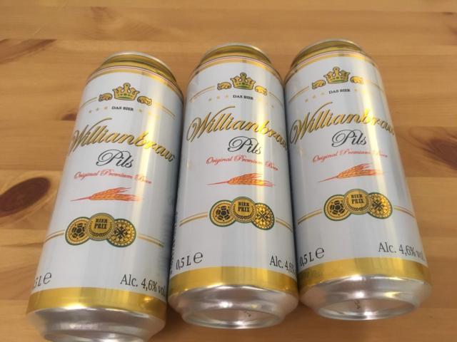 【写真】缶ビール500m1本lが0.76ユーロ93円
