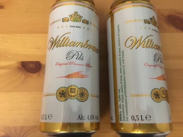 【写真】500mlの缶ビール2本で1.52ユーロ185円