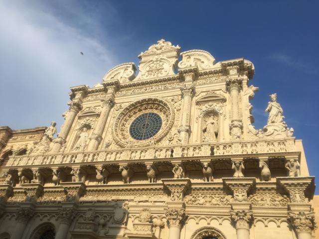 【写真】レッチェの見どころの一つサンタクローチェ聖堂