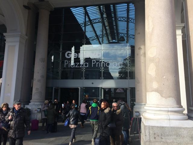 【写真】ジェノバの主要駅であるジェノバ・ピアッツァ・プリンシペ駅