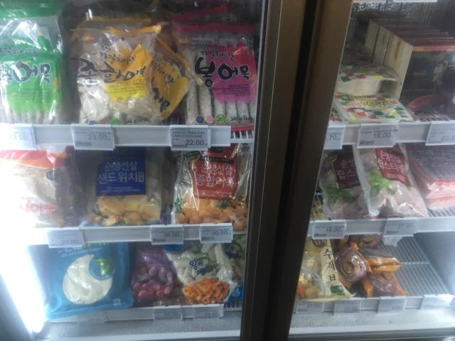 【写真】Kjcenterには日本の食材が沢山
