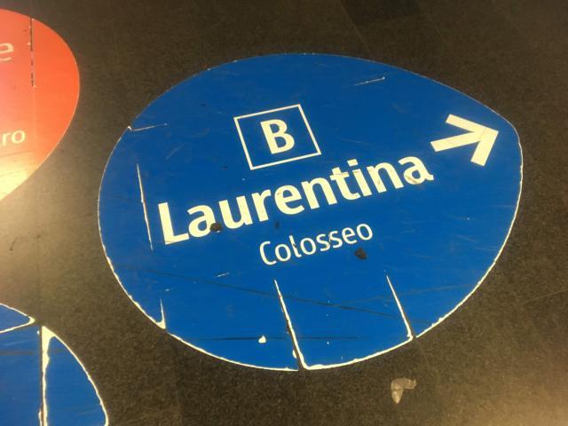 【写真】Laurentina方面乗り場の向かう