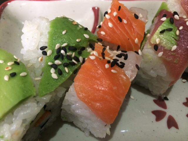 【写真】寿司の食べ放題はうれしい。
