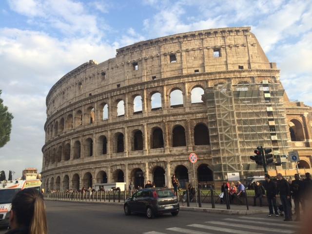【写真】2016年2月のコロッセオの様子。