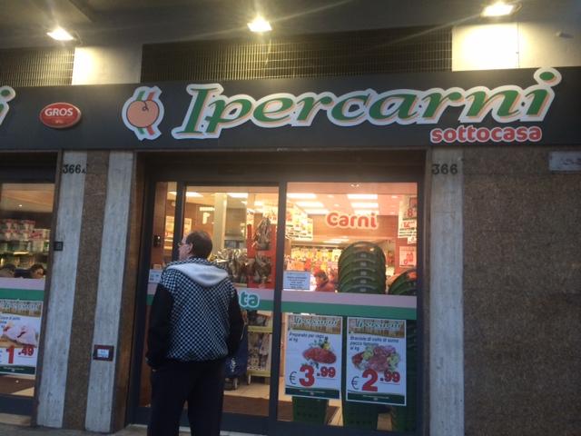 【写真】お肉専門店Ipercarne。