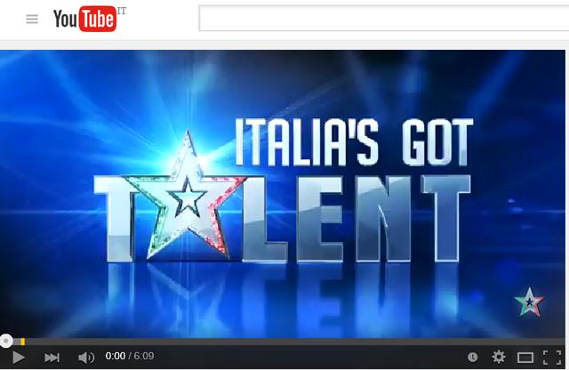 【写真】イタリアズゴットタレントItalia's got talent 第二週。