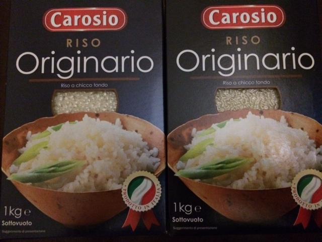【写真】イタリアにある日本のお米に近いオリジナリオ。
