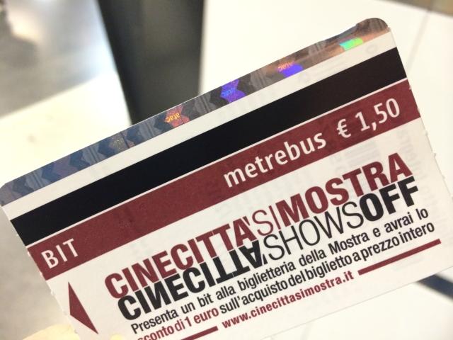 【写真】地下鉄のチケットは1.5ユーロ