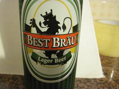 EURO Spinのオリジナルビール BEST BRAU