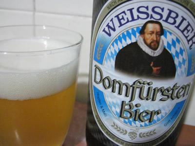 EuroSpinの白ビール Weissbier Domfursten