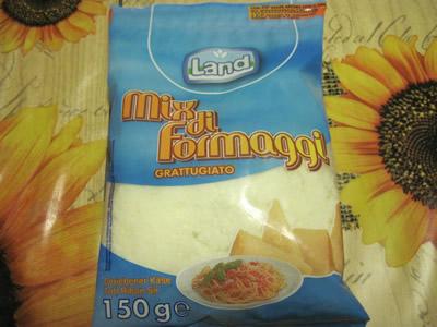 ユーロスピンオリジナルの粉チーズ150g。